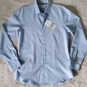 Zara Easy Care Textured Shirt
